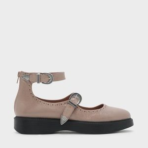 Blush Mary Janes